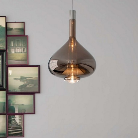 suspension skyfall verre soufflé de la marque studio italia design