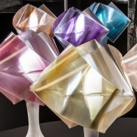 LAMPE DE TABLE GEMMY PRISMA OR