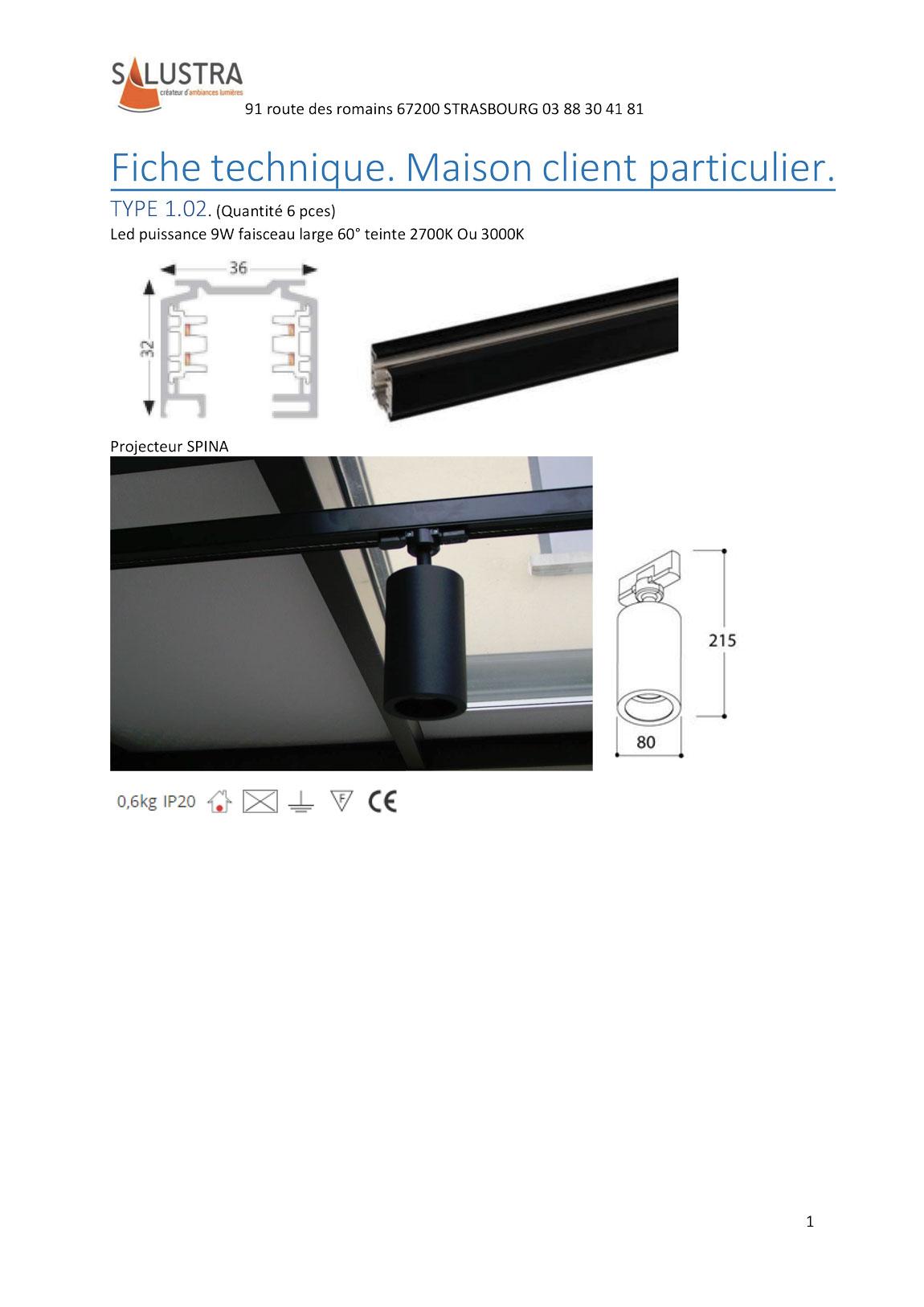 fiche technique projet particulier