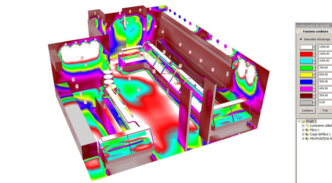 simulation Maison Klein